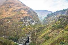A deep canyon near Pedregal.
