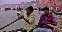 "INDIEN, india, (Benares) Varanasi,  early morning,  on the Ganges near the ghats, 14414//7291 (roba66) Tags: indienvaranasibenaresfrühmorgendsentlangderghats varanasibenares indien indiennord asien asia india inde northernindia urlaub reisen travel explore voyages visit tourism roba66 benares varanasi ganges ganga ghat pilgerstadt pilger hindu hindui menschen people indianlife"" indianscene history brauchtum tradition kultur culture indiansequence historie historic historical geschichte hinduismus rio river fluss boat boats boot boote ship ghats ruderboot ruderer"