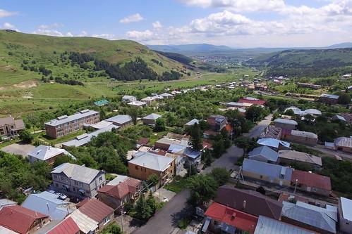 Tsaghkadzor, aerial view, 2016.07.03 (02)