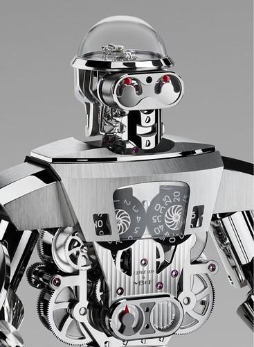 Двуликий ювелирный робот MB&F Balthazar