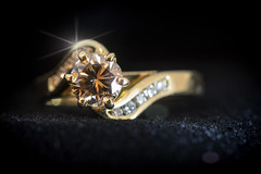 Diamonds are forever (orothy) Tags: diamondsareforever diamonds gold ring light macro macromondays odc