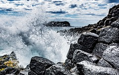 Sea Spray (andrew.walker28) Tags: fingal head giants causeway cook island tweed coast northern rivers new south wales australia sea ocean volcanic volcano lava flow