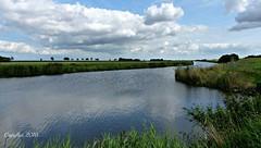Carel Coenraadpolder - Groningen. (Cajaflez) Tags: sky lucht wolken clouds landschap landscape carelcoenraadpolder groningen nederland thenetherlands