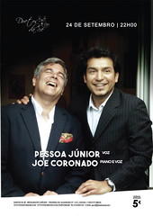 CONCERTO Duetos da S - SBADO 24 DE SETEMBRO 2016 - 22h00 - PESSOA JNIOR e JOE CORONADO (Duetos da S) Tags: concertoduetosdassbado24desetembro201622h00pessoajniorejoecoronado duetosdas pessoajnior joecoronado piano voz
