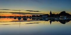 Dreamy Light (Explore 25-9-2016) (Sunset Snapper) Tags: dreamylight sunset bosham westsussex southcoast uk saxonchurch reflections still peaceful tranquil serene calm hightide filter lee nd grad nikon d810 2470mm afterglow dusk september 2016 sunsetsnapper