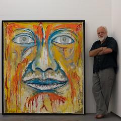 Nando Snozzi (mbeo) Tags: snozzi mbeo arte faccia giallo quadro ritratto yellow face picture portrait art