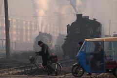I_B_IMG_8784 (florian_grupp) Tags: asia china steam train railway railroad fuxin liaoning sy coal mine 282 mikado steamlocomotive locomotive