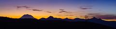 Mount Rainier sunset (dwolters2) Tags: yakimacounty sunset sky bethelridge pentax k1 mount rainier cascades northwest mountians