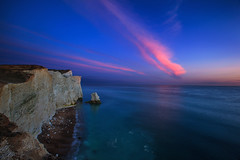 Seaford Cliffs Sunset (-*HJS*-) Tags: beach beacheslandscapes canon clouds coast colours cliffs chalk dusk eastsussex england fullframe landscape leefilters lowlight longshutterspeed manfrotto ngc ocean rocks sea seascapes slowshutterspeed sky sunset sussex tripod tide water waves 5dmk2 1635mm 2016