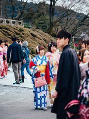 Kyoto Walks - Kiyomizudera #3 (david.ow) Tags: culture kyoto olympus shrine temple kiyomizudera street culturalwear em5ii spring travel people kimono japan traditional