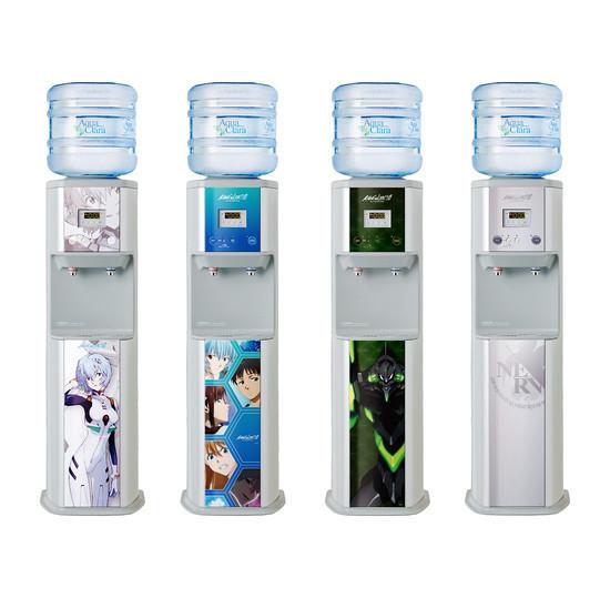 Aqua Claraup X 福音戰士 人類補水計畫