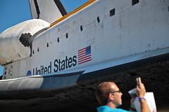 Taking Atlantis's picture (jjackowski) Tags: atlantis kennedyspacecenter canonefs1755mmf28isusm efs1755mmf28isusm
