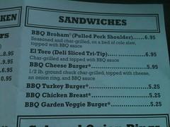 IMG_0183 (Darryl James - White Sheep) Tags: california food chicken menu restaurant drink beef bbq pork phils santee