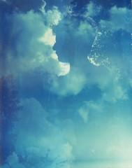 London, August 22nd, 2012 (The Gentleman Amateur) Tags: uk summer england people london film analog polaroid day doubleexposure 4x5 analogue expired largeformat 59 graflex speedgraphic ektar 12745 thanksrom