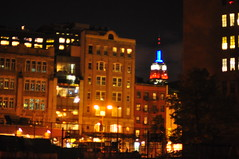 View from Corporal John A. Seravalli Playground (Triborough) Tags: park nyc newyorkcity ny newyork playground manhattan westvillage esb empirestatebuilding greenwichvillage nycparks newyorkcounty corporaljohnaseravalliplayground