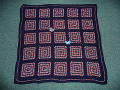 What a wonderful blanket! (MRS TWINS/SIBOL 'Sunshine International Blankets) Tags: squares elderly blankets sibol