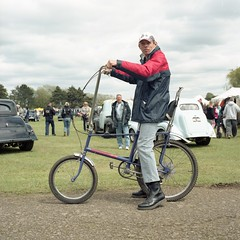 chopped chopper (holloway steve) Tags: fun kodak run hasselblad billing portra drmartins 160 500cm nsra raleighchopper