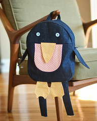 Penguin Backpack from Little Things to Sew (brittmark19) Tags: penguin backpack littlethingstosew