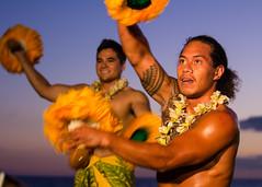 Feast at LeLe (theqspeaks) Tags: travel sunset man feast canon island hawaii is dance october dancing dusk bare chest dancer maui luau hi 70200 lahaina 2012 feastatlele f28l canonef70200mmf28lisusm 60d