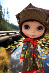 Molly's old look (jessi.bryan) Tags: trip vacation doll sewing yellowstone blythe wyoming lilypads ebl customblythe fancypansy wingsinflight vainilladolly sugarmaghat