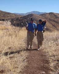 036 Beating The Path (saschmitz_earthlink_net) Tags: california trail orienteering runner 2012 aguadulce vasquezrocks losangelescounty laoc losangelesorienteeringclub