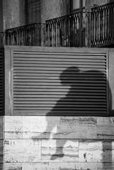 abatimiento sobre dos dimensiones (Sili[k]) Tags: city shadow bw sculpture espaa byn blancoynegro nikon ciudad sombra minimal escultura conceptual almera minimalista d3000