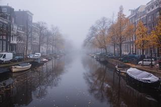 Foggy Day in Amsterdam