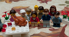 326/365 - Happy Thanksgiving from the Lego Family (JeffGamble) Tags: thanksgiving holiday turkey lego 365 2012365