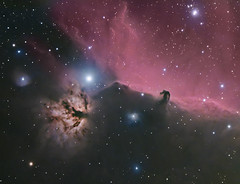 Horsehead and Flame Collaboration Repro (BudgetAstro) Tags: nikond70 flame nebula astrophotography orion astronomy ngc2024 ic434 horsehead dss davewilliams dso ed80 alnitak barnard33 deepskystacker deepskyobject Astrometrydotnet:status=solved Astrometrydotnet:version=14400 sh2277 Astrometrydotnet:id=alpha20121165620817