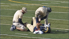 'There's an Injured Player Down on the F by Ron Cogswell, on Flickr