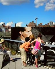 four women (omoo) Tags: park newyorkcity women chelsea young westvillage billboard older highline greenwichvillage meatmarket giorgioarmani fourwomen emporioarmani newpark elevatedpark emporioarmaniman followstheoldelevatedhighlinetraintracks gansvoortnorthtowest20th