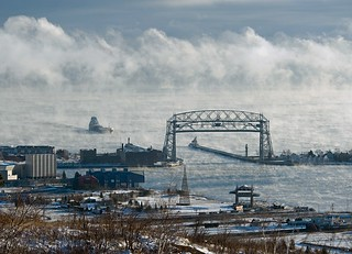 Great Republic Arriving Duluth