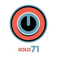 New Solo71 Logo concept (Solo 71) Tags: art logo design circles identity type vector