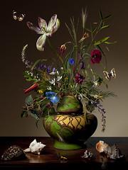 """Untitled"" #71 (basmeeuws.com) Tags: flowers stilllife holland photography stilleven vase bloemen stilllifes tulpen bloem vaas tulp vazen 17eeeuw 17eeeuws basmeeuws"
