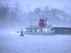 Patricia Hoey (Hear and Their) Tags: river detroit tugboat tug patricia barge boblo amherstburg hoey