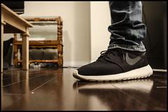 WDYWT: Roshe Run (LSean) Tags: white black shoe day you running run nike wear footwear sail what did today wdyw
