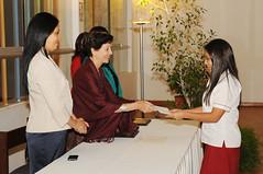Noviembre, 23: Certificación alumnas de V