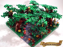 Elf Guards Of Mirkwood (ACPin) Tags: castle toys lego diorama elves mirkwood acpin