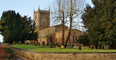 Church of St. Mary The Virgin, Badby. Explored (Paul (Barniegoog)) Tags: building church architecture northamptonshire badby
