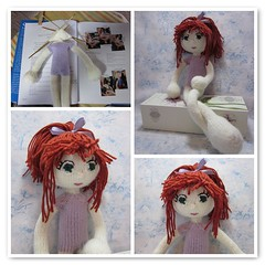 """Sisu, from """"Knitted Dolls,"""" by Arne & Carlos (toureasy47201) Tags: fdsflickrtoys doll handmade knit yarn knitteddolls arnecarlos"""