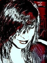 MAXS GIRL FAR ART 2012 (Derek Dees) Tags: derekdeescooluniquescetchfotohermosabeauty sexywomangirlteen