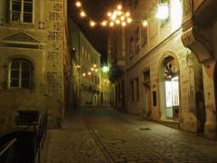 Steyr bei Nacht ( seinfeld) Tags: city night nacht cities olympus andreas altstadt oldtown seinfeld steyr steyrdorf nachtaufnahmen olympuse5 seinf