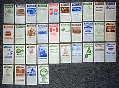 The Buzzer Complete Set - 1977 (mile105) Tags: bus vancouver transit 1978 1977 1979 seabus publication bctransit freebus pacificstagelines thebuzzer bchydrotransit