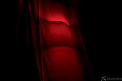 Red drape (Fausto Zuppa - DigammaZeta) Tags: shadow red lamp ombra tent cast shade drape rosso tenda lampadario sfumatura drappo proiettata