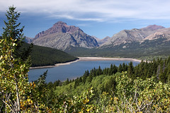 Two Medicine lake - Montana (Alan Vernon.) Tags: park two mountain lake landscape scenery montana native lakes glacier national american watershed sacred medicine np ceremonial sinopah blackfeet copyright alanvernon 2012alanvernon