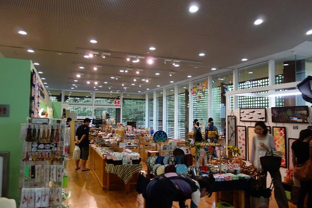 江戸東京たてもの園のビジターセンター内にある、ミュージアム。|たてもの園 下町夕涼み