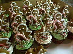Christmas Cupcakes by Cathy P Birthday Cakes 4 Free Santa Cruz