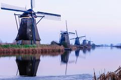 Kinderdijk in Winter (ace_dave) Tags: netherlands thenetherlands kinderdijk zuidholland sigma1850f28ex dutchwindmills winterinthenetherlands nikond300s