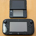 Wii U GamePad と Nintendo 3DS LL 大きさ比較