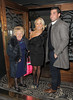 Nanny Pat, Carole Wright and James Argent arriving at the TOWIE Christmas Party, held at Groucho Club in Soho